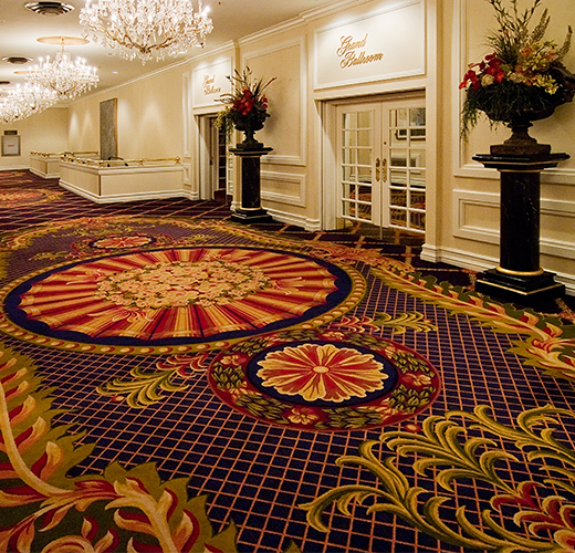 Hilton chicago chicago il couristan for Hotel design firms chicago