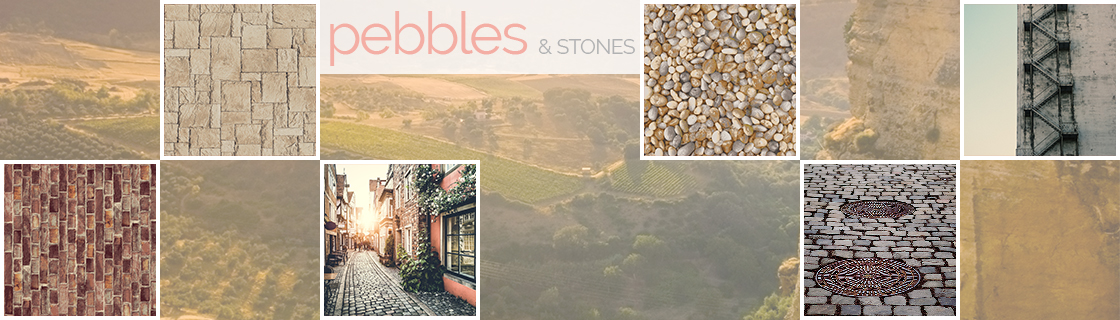 PEBBLES & STONES w text